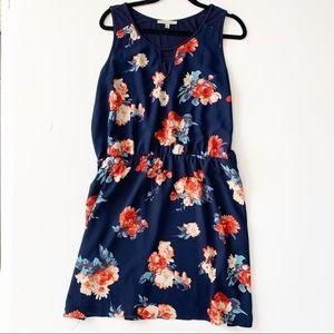 41 HAWTHORN Stitch Fix Floral Sleeveless Dress